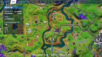 fortnite cow decoy location 2 map