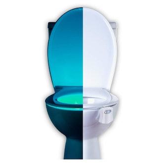 RainBowl Motion Sensor Toilet Bowl Night Light