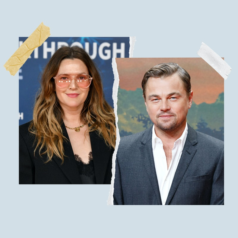 Drew Barrymore and Leonardo DiCaprio