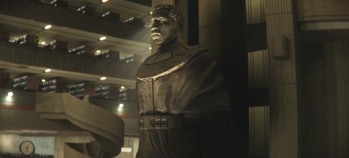 The Kang statue seen at the end of Loki Episode 6