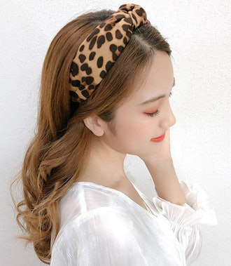 ShiQiao Spl Leopard Print Headband