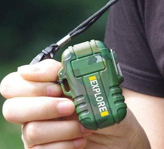 lcfun Waterproof Tactical Lighter