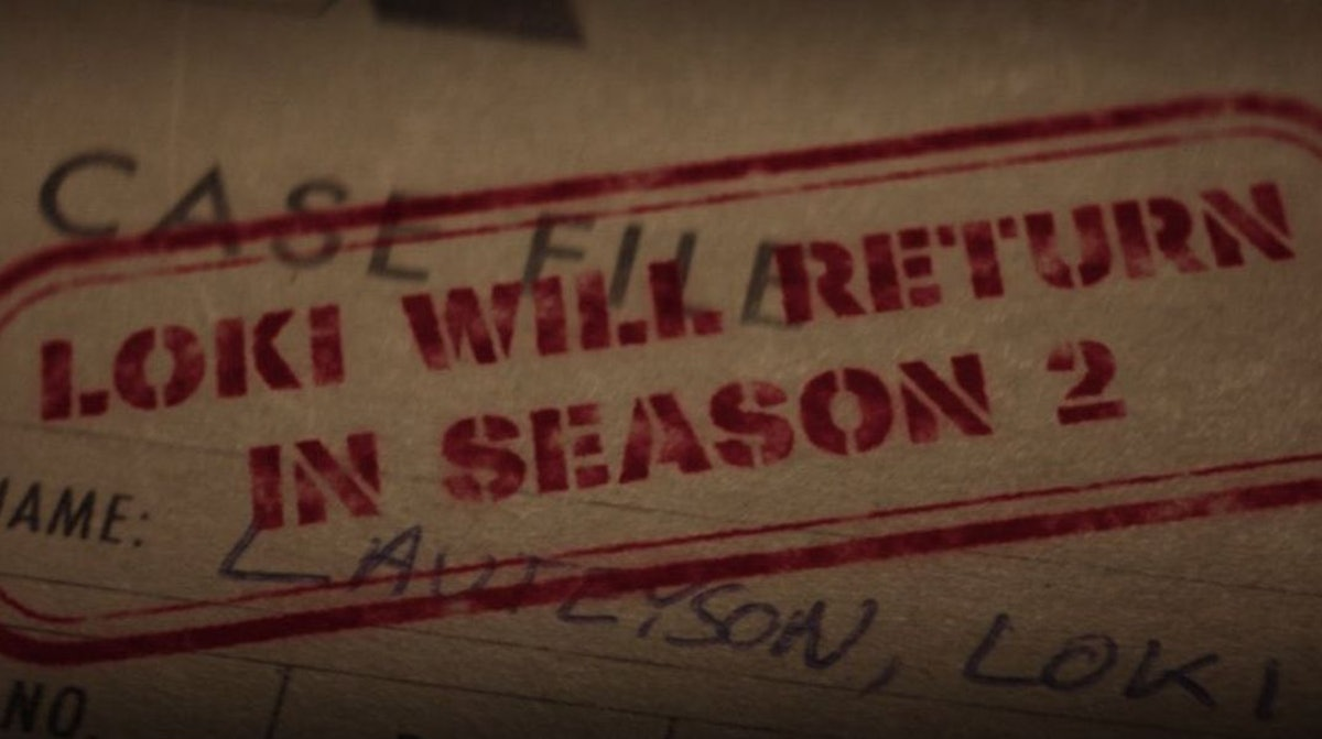 The mid-credits sequence in 'Loki's finale promoting Loki Season 2