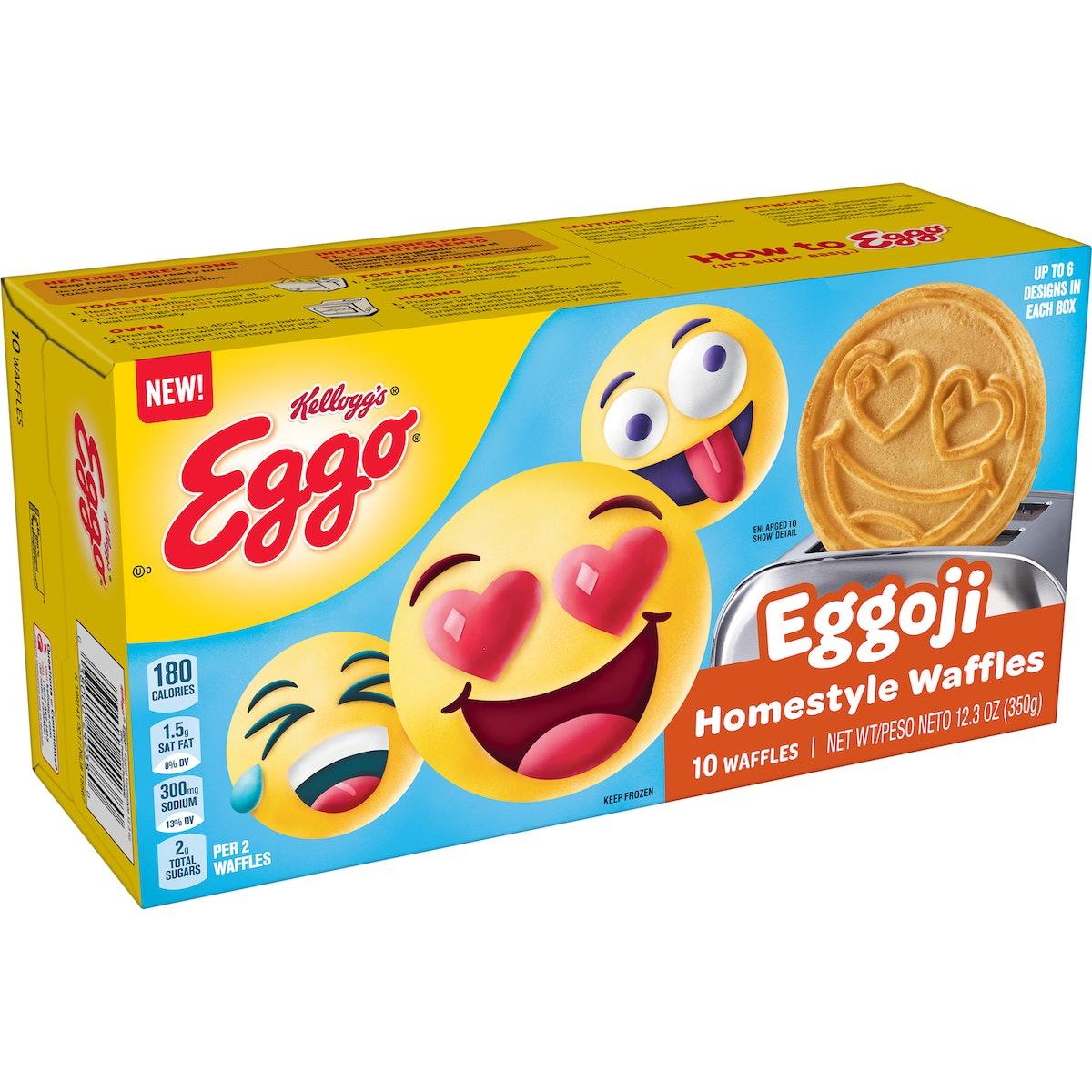 Eggo Eggoji Homestyle Frozen Emoji Waffles