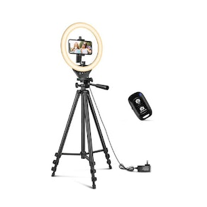 Sensyne LED Ring Light With Extendable Tripod Stand