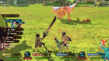 Monster Hunter Stories 2 battle