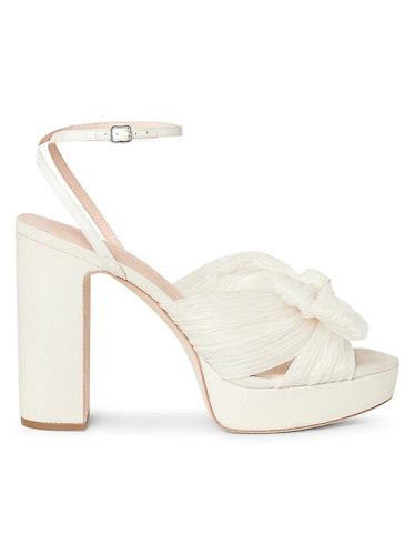Natalia Knotted Platform Sandals