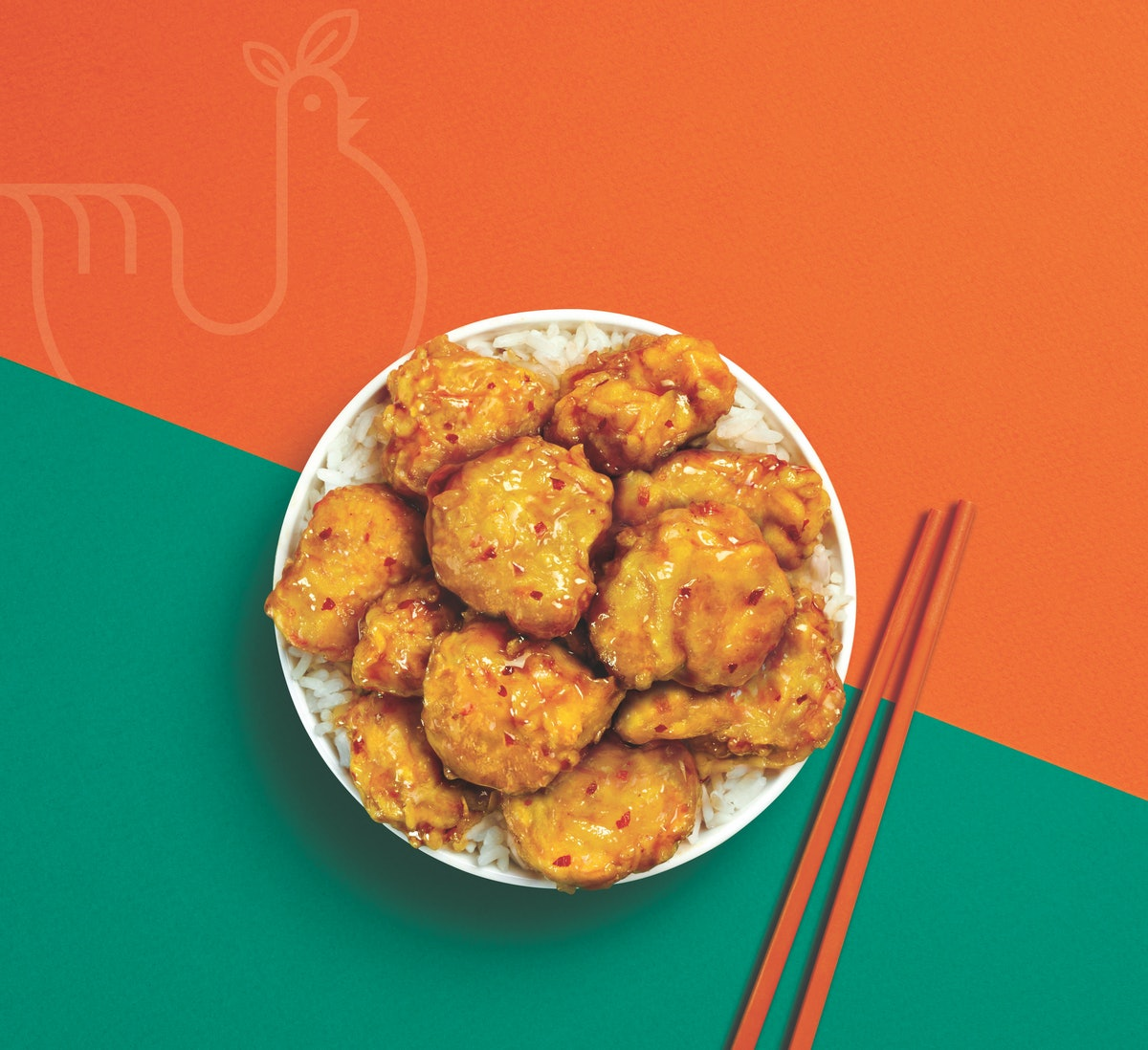 Here's where you can get Panda Express' Beyond Orange Chicken once the test launches.