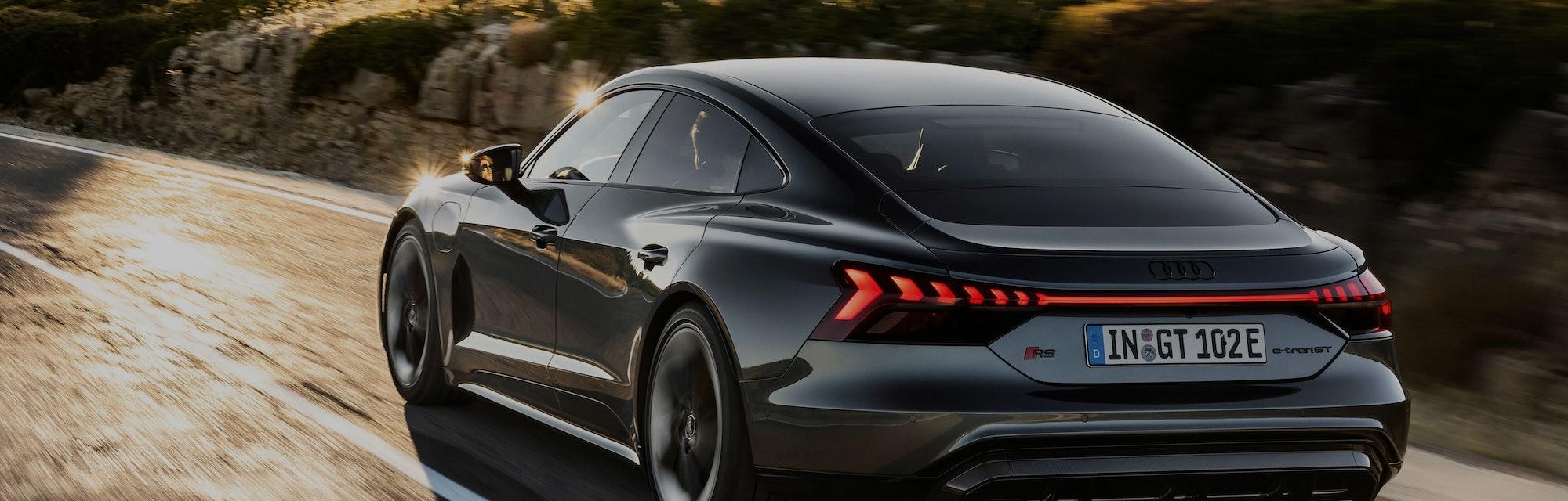 Audi has begun sales of its e-tron GT, a luxury electric car.