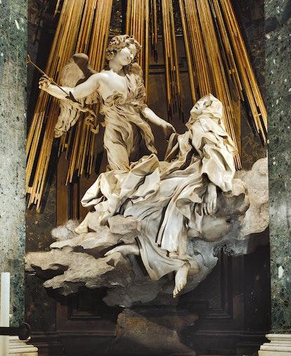 Bernini's Ecstasy of Saint Teresa is an example of religious ecstasy.