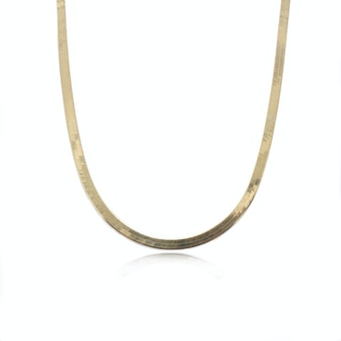 Small Herringbone Necklace