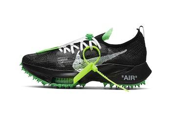 """""""Scream Green"""" Off-White x Nike Air Zoom Tempo NEXT%"""