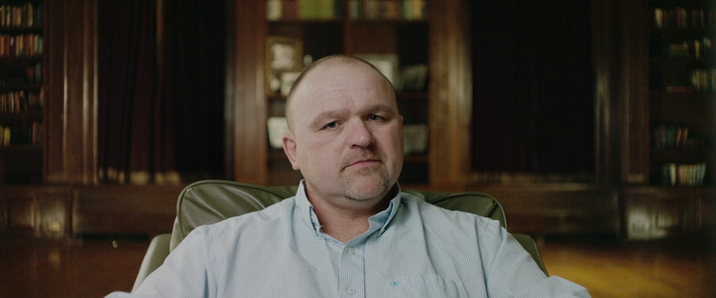 "The Bourbon King, Gilbert ""Toby"" Curtsinger from 'Heist' via Netflix's press site"