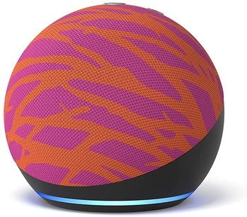 Amazon Diane von Furstenberg Echo Dot collab promo image