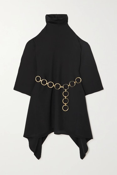 Piccola Divina Cold-Shoulder Dress