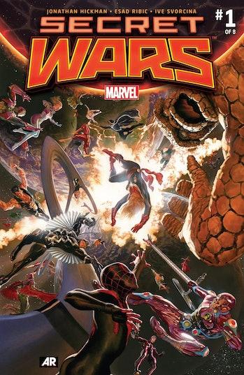 Secret Wars Marvel Loki multiverse