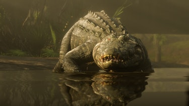 Alligator from Red Dead Redemption 2