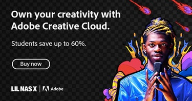 Adobe advertisement featuring musician Lil Nas X