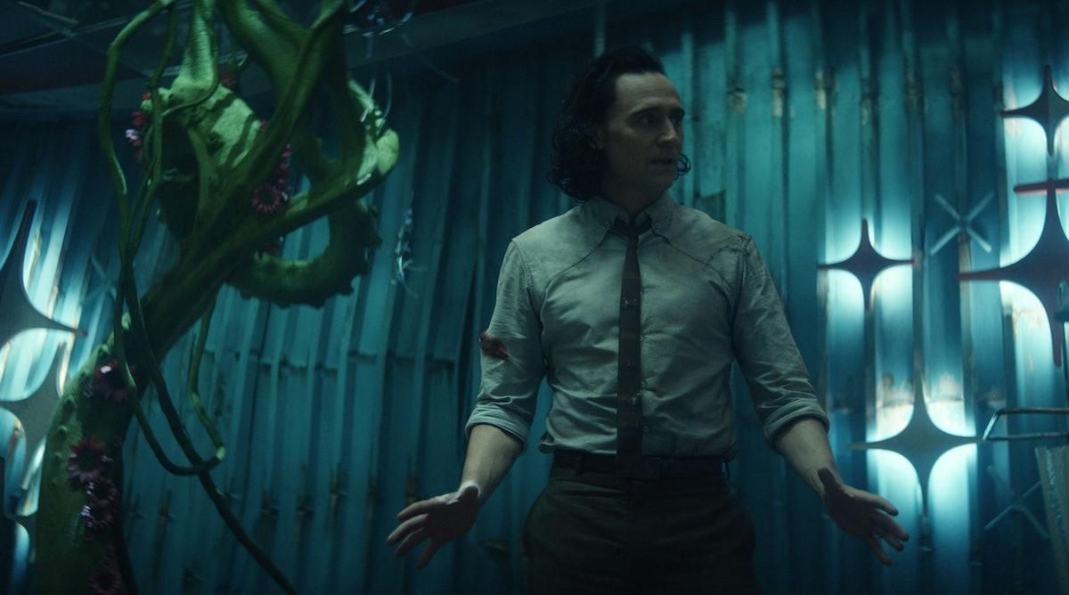 Tom Hiddleston's Loki is pretending to be surprised that Season 2 is confirmed