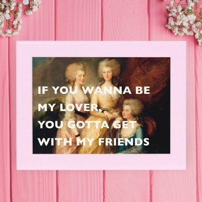 Spice Girls Lyrics Print