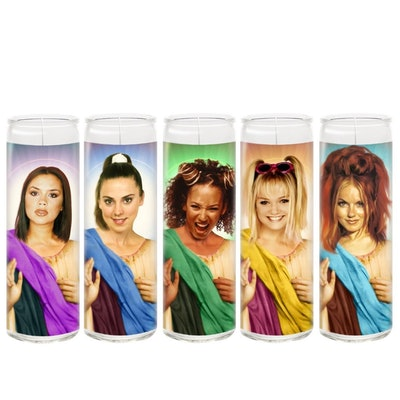 The Spice Girls Candle Set