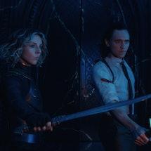 Sylvie & Loki's disagreement in the 'Loki' season finale paved the way for serious chaos in Season 2 & the greater MCU. Photo via Marvel Studios