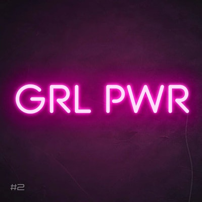 Grl Pwr Neon Sign
