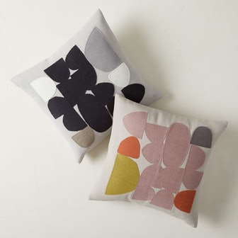Brutalist Geo Pillow Cover