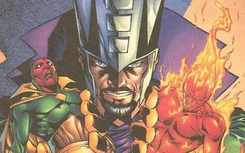 Immortus as depicted on the cover of Avengers: Forever #8