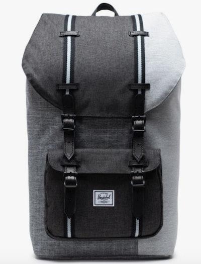 Neutral Stripe Backpack