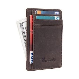 Travelambo Slim RFID Blocking Wallet