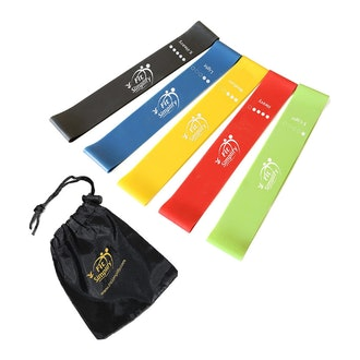 Fit Simplify Resistance Loop Exercise Bands (Set of 5)