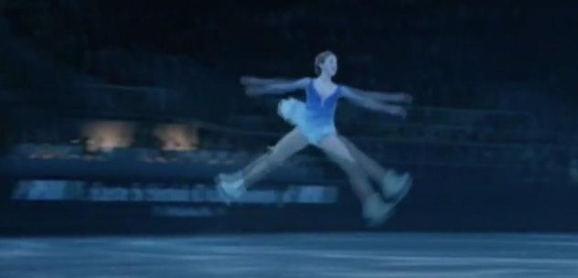 Michelle Trachtenberg stars in the Disney film, 'Ice Princess.'