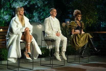 Heidi Klum, Jeremy Scott, and Winnie Harlow on Making the Cut.
