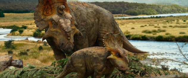 Paleontologists were consulted on the design of the creatures in Walking With Dinosaurs.