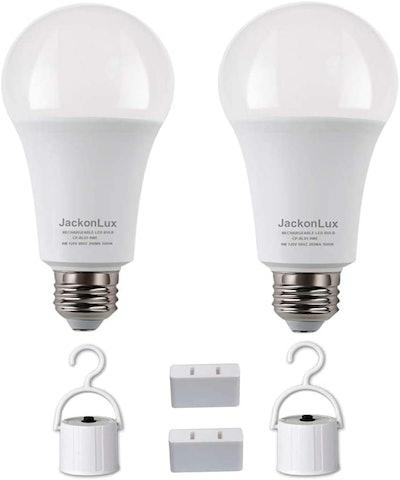 JackonLux Rechargeable Emergency LED Bulb