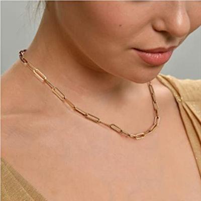 Ldurian Gold Choker Necklace
