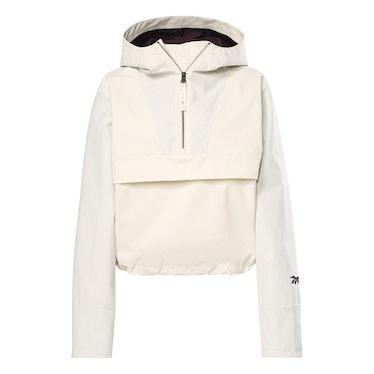 Victoria Beckham Anorak Jacket in Classic White