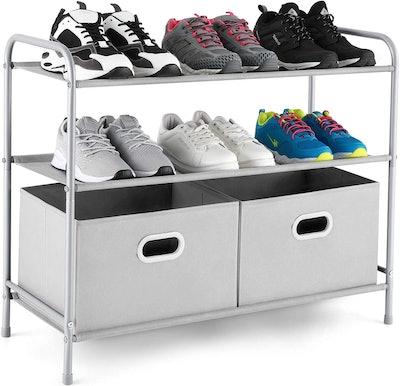MaidMAX 3 Tiers Closet Shelf Organizer