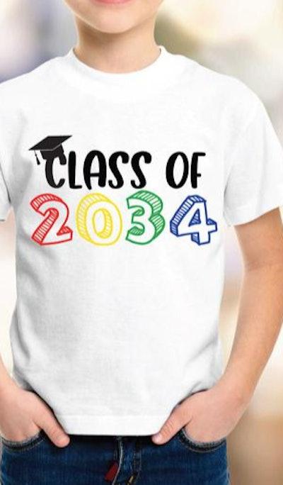 Class of 2034 T-shirt