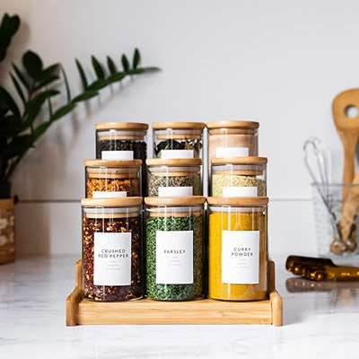 Savvy & Sorted Minimalist Spice Labels