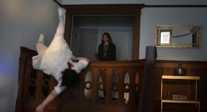 Kaia Gerber's character Ruby kills a nurse in 'American Horror Stories'