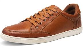 Jousen Men's Leather Sneakers