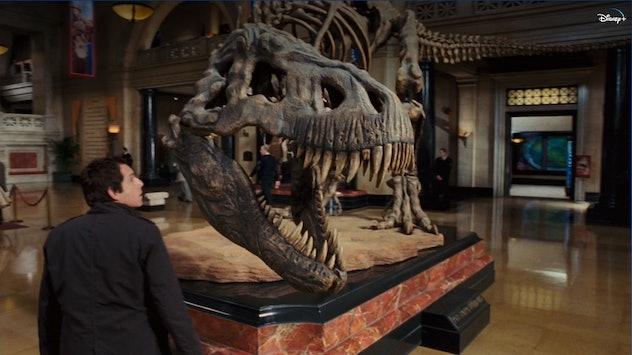 Night at the Museum stars Ben Stiller, Robin Williams, and Owen Wilson.