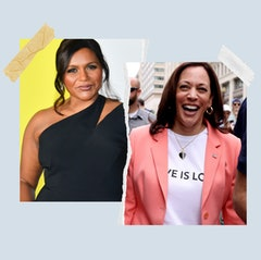 Mindy Kaling and Kamala Harris cooked together.