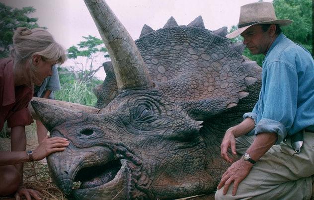 Jurassic Park is a dinosaur movie for older kids