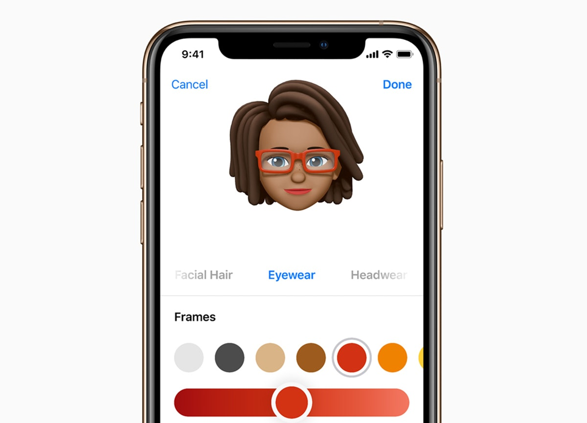 You can create a Memoji from a photo on your phone.