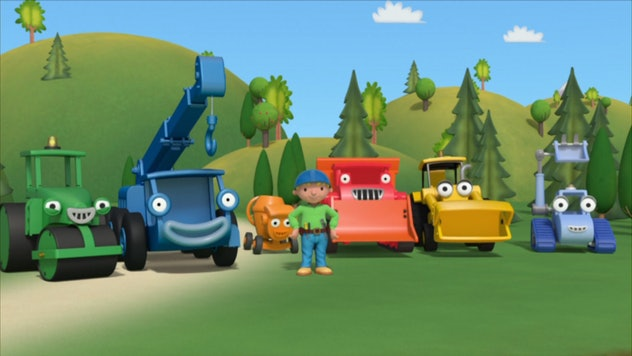 Bob the Builder originally aired in the UK.