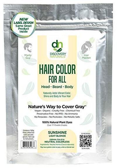 Discovery Naturals Hair Color (100 Grams)