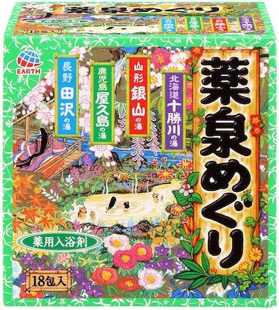 Japanese Hot Spring Bath Powders 18-Pack